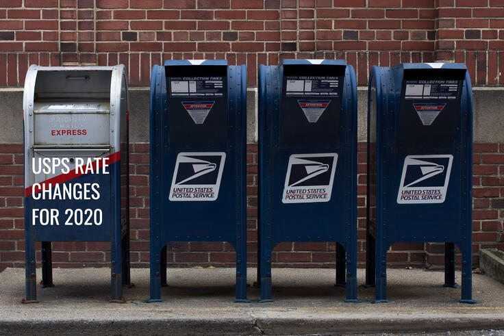 USPS Rate Changes for 2020