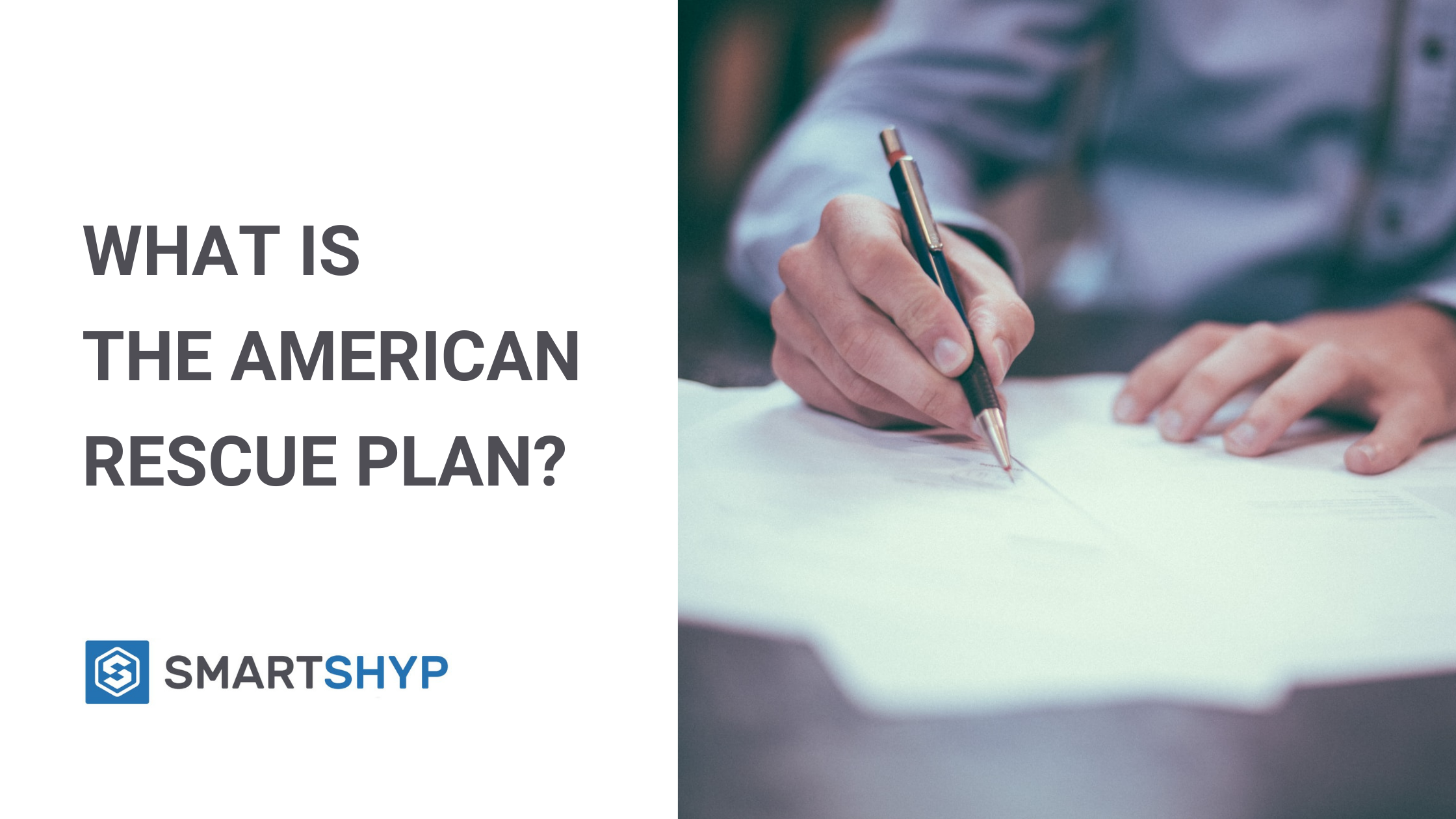 What is The American Rescue Plan? Blog Banner